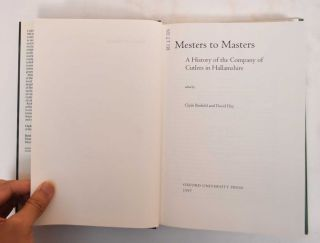 Mesters to Masters: a history of the Company of Cutlers in Hallamshire