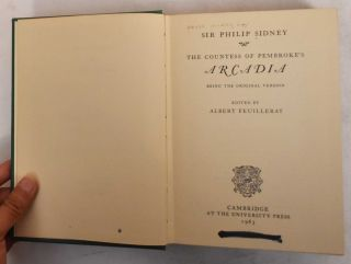 The prose works of Sir Philip Sidney (4 volumes)