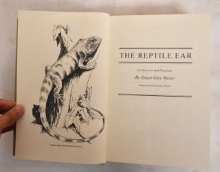 The Reptile Ear : Its structure and function