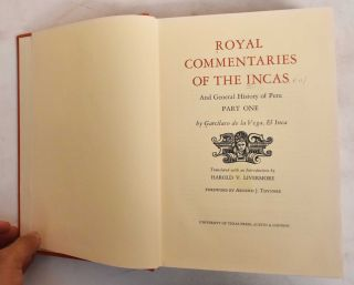 Royal commentaries of the Incas, and general history of Peru (2 Volumes)