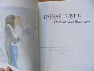 Raphael Soyer: Drawings and Watercolors