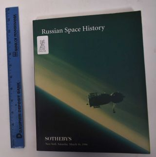 Russian Space History (Sale #6753). Sotheby's