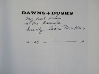 Dawns + Dusks: Louise Nevelson, Taped Conversations with Diana MacKown
