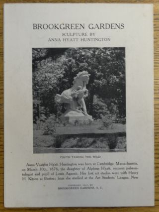 Brookgreen Gardens: Sculpture by Anna Hyatt Huntington