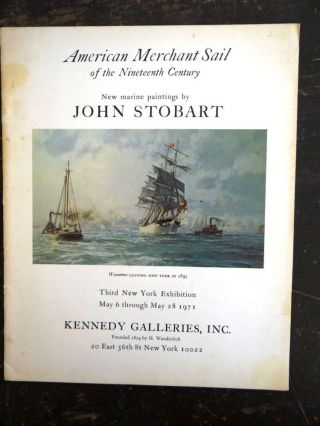 American Merchant Sail of the Nineteenth Century: New Marine Paintings by John Stobart